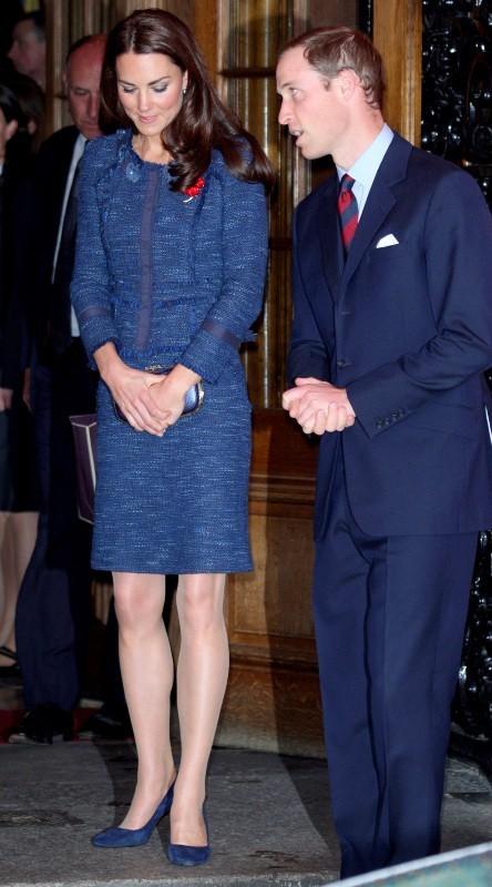 Kate Middleton et le prince William à Londres, le 26 avril 2012.