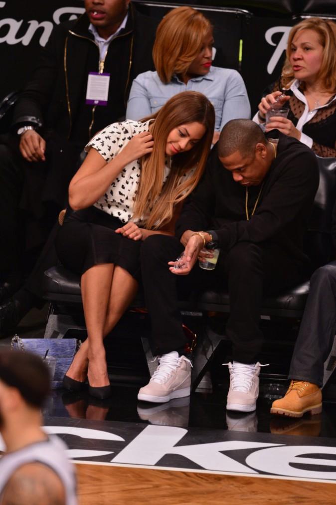Beyoncé et Jay-Z le 8 décembre 2014