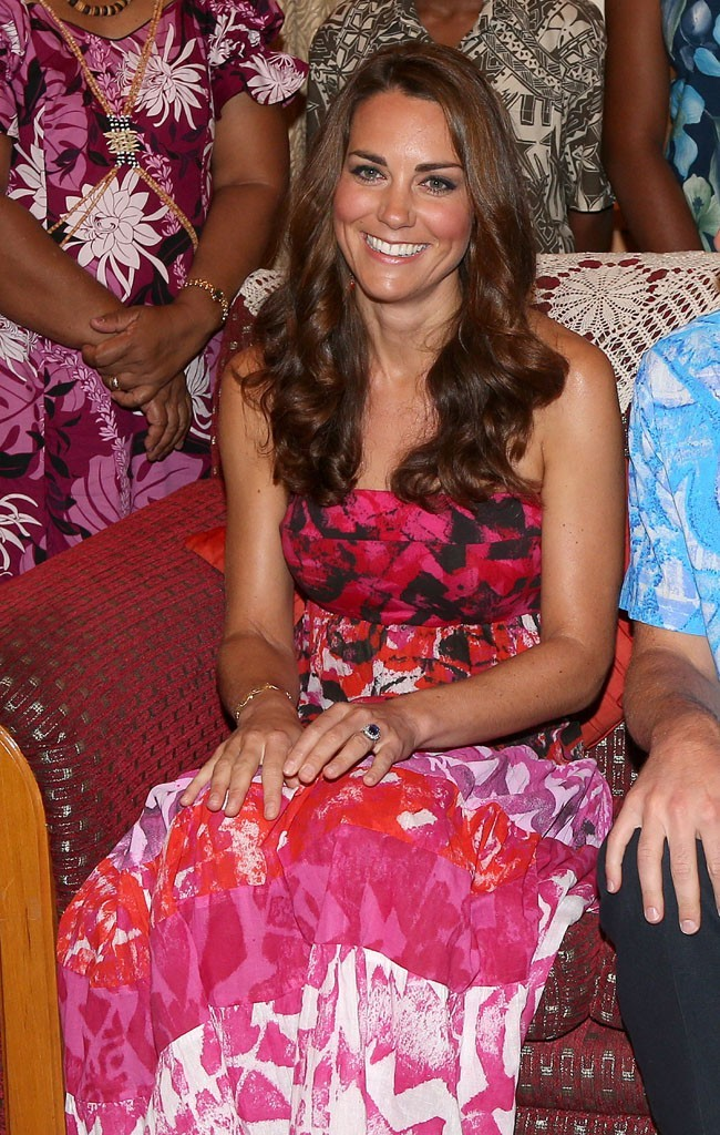 Kate Middleton le 16 septembre 2012 à Honiara