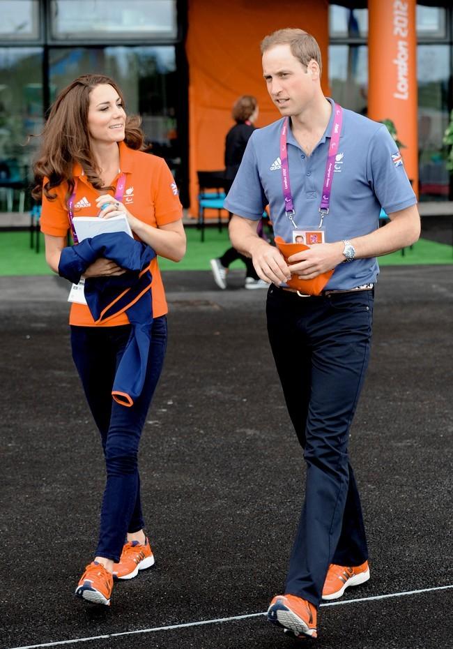 Prince William et Kate Middleton à Londres le 30 août 2012