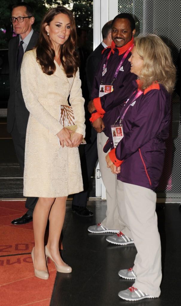 Kate Middleton à la cérémonie d'ouverture des Jeux Paralympiques le 29 août 2012