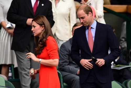 Photos : Kate Middleton et le prince William : sortie en amoureux à Wimbledon !