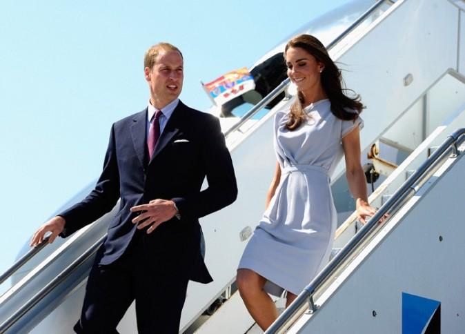 Kate Middleton et le Prince William pour leur arrivée en Californie !