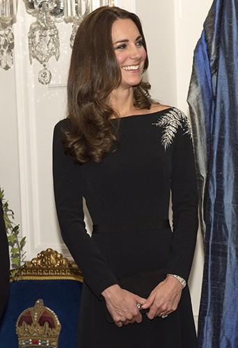Kate Middleton à Wellington le 10 avril 2014