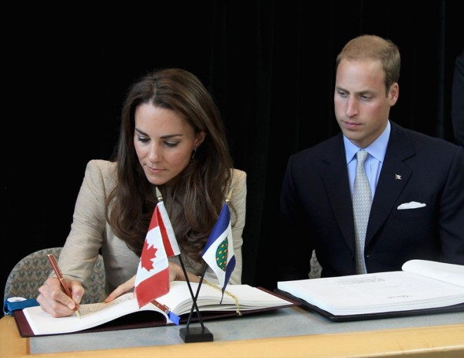 Kate Middleton et le Prince William version sérieuse ...