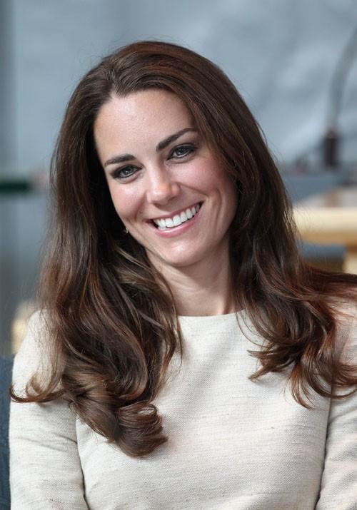 Kate sait qu'elle doit très vite retrouver le sourire !