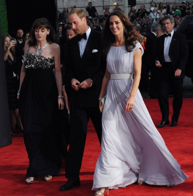 Kate sublime en Alexander McQueen !