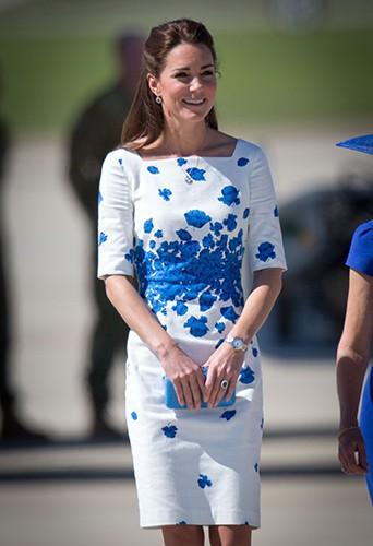 Kate Middleton à Brisbane le 19 avril 2014