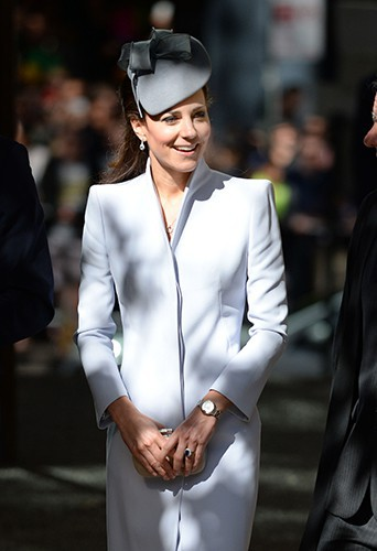 Kate Middleton à Sydney le 20 avril 2014