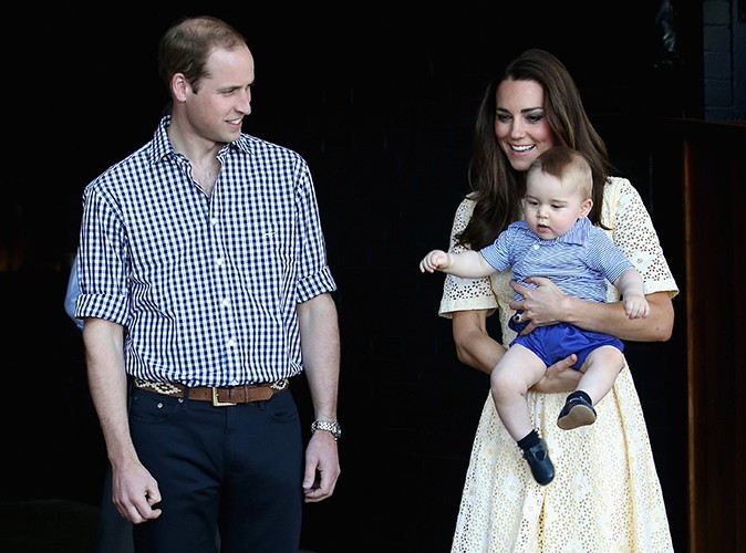 Le Prince William et Kate Middleton à Sydney le 20 avril 2014