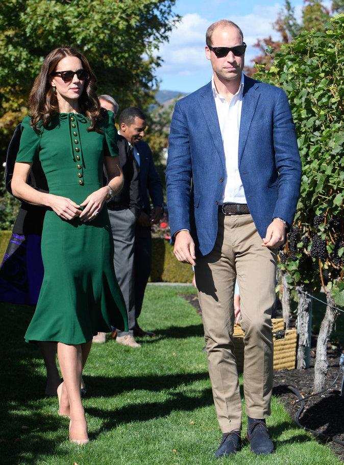 Photos : Kate Middleton et William : grimaces au Canada !