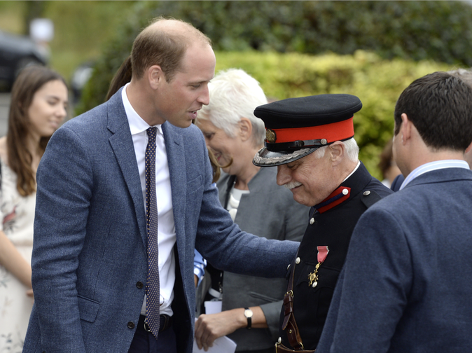 Kate Middleton, le 16 septembre à Harlow