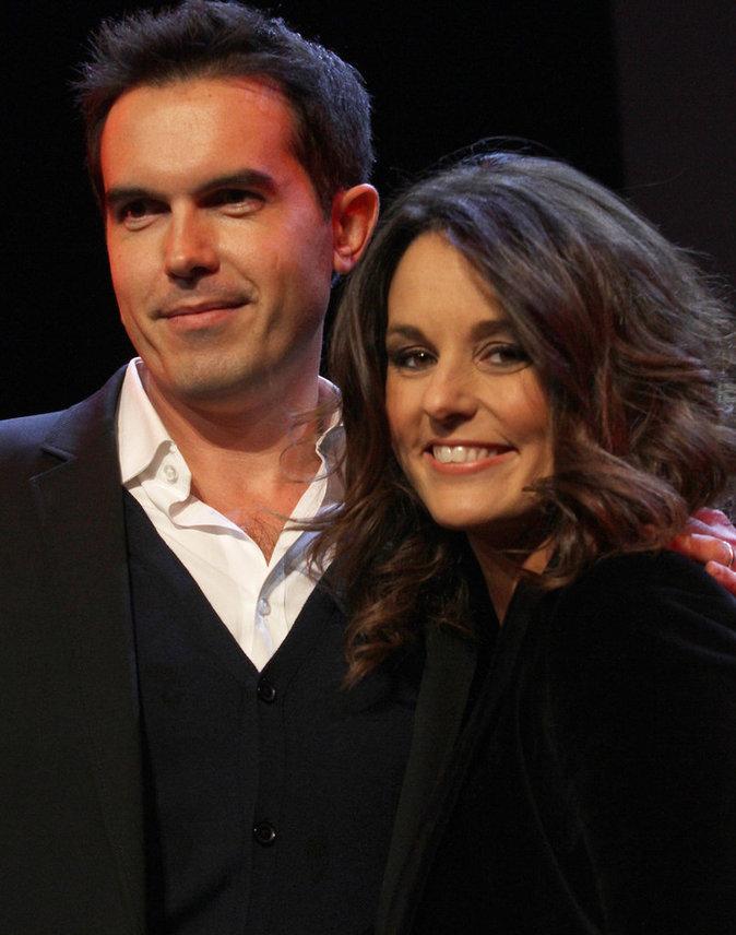 Faustine Bollaert et Maxime Chattam ont accueilli Peter, leur deuxième enfant
