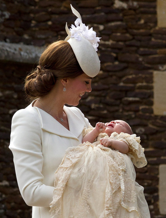 Kate Middleton a donné naissance à la princesse Charlotte