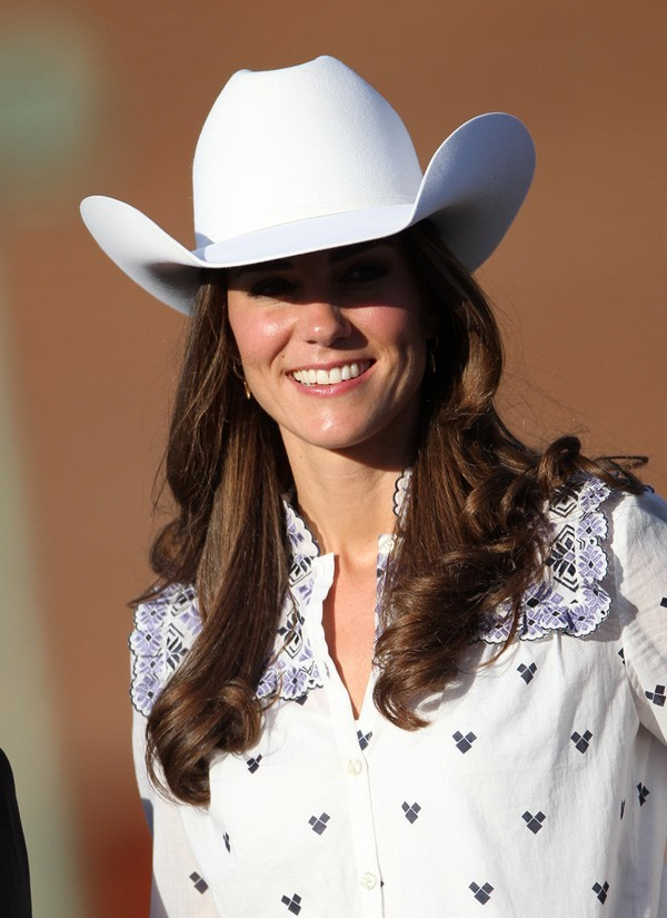 Kate en cowgirl, ça vous plaît ?