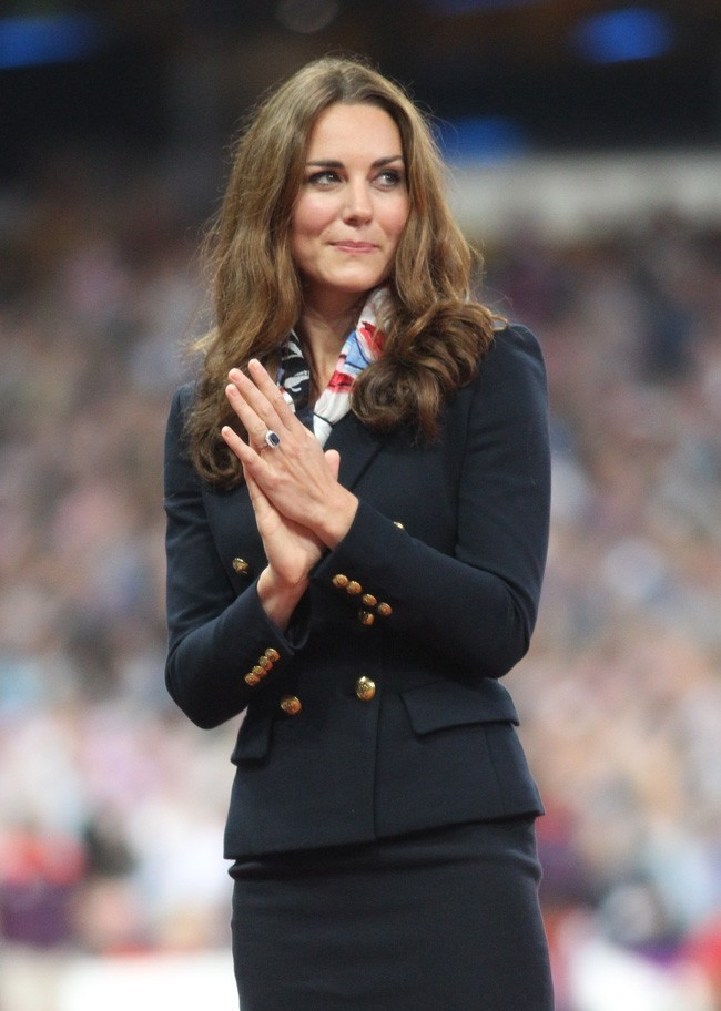 Kate Middleton le 2 septembre 2012 à Londres