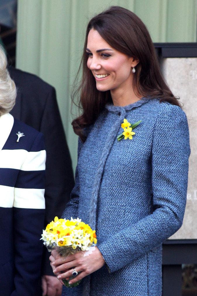 Kate Middleton a fait interdire la vente de sa bague de fiançailles