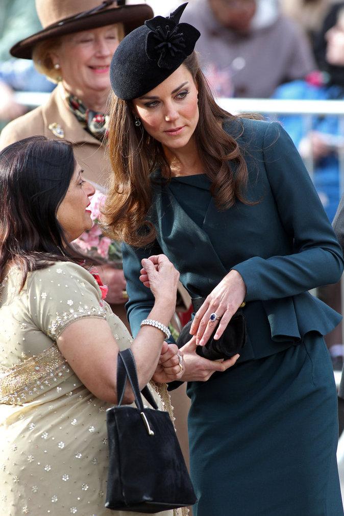 La bague de Kate Middleton a une valeur sentimentale