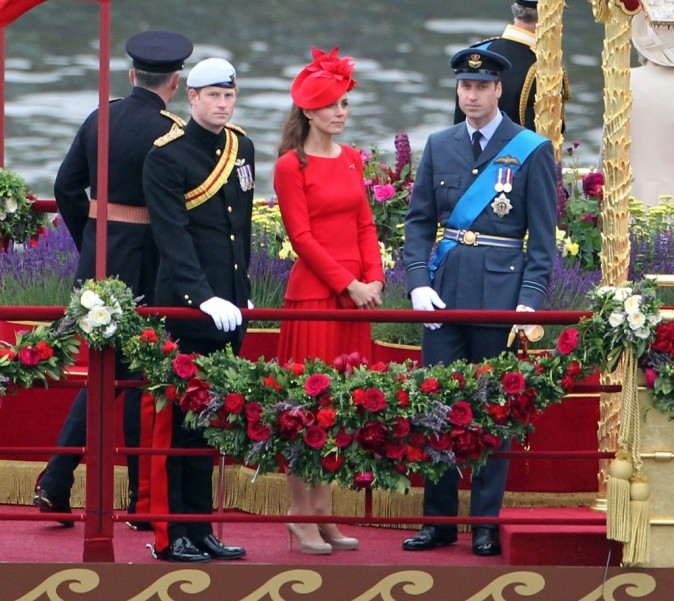 Kate Middleton le 3 juin 2012 à Londres