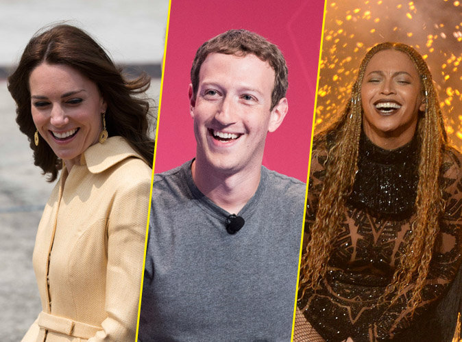 Kate Middleton, Mark Zuckerberg, Beyonc� : puissants mais si cool !