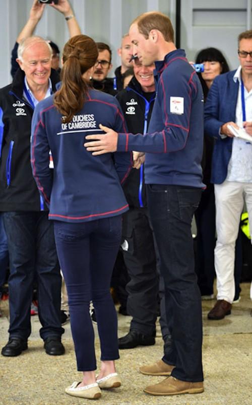 Photos : Kate Middleton : radieuse et assortie à son homme pour une virée sportive !