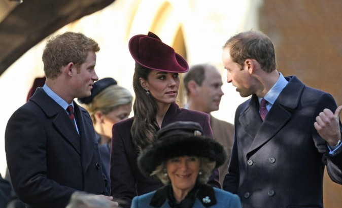 Kate, William et Harry ! Le trio de choc !