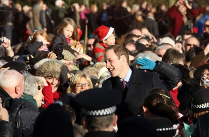Presque une rock star le Prince William !