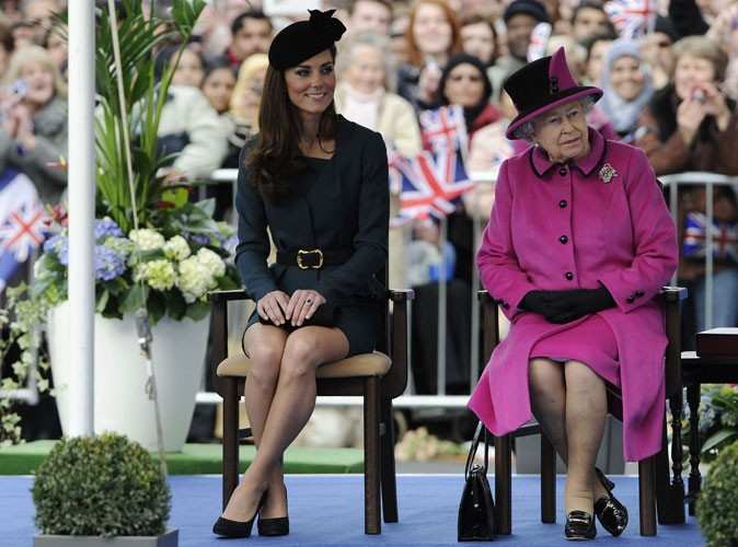 Photos : Kate Middleton à Leicester, en 2012