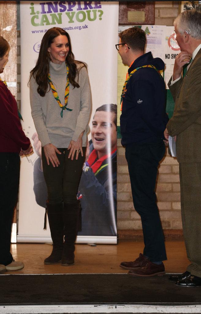 Photos : Kate Middleton : ses enfants réquisitionnés par Pippa !