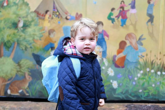 Prince George photographié par Kate Middleton