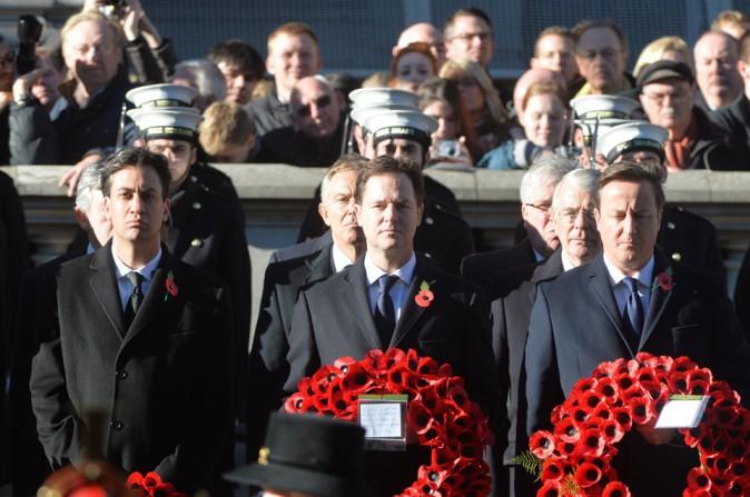 """La célébration du """"Remembrance Day"""" à Londres le 10 novembre 2013"""