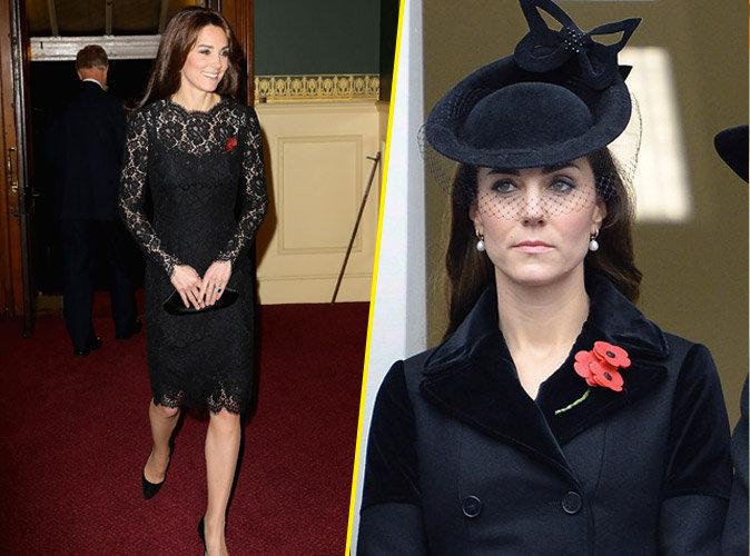 Photos : Kate Middleton : chic et solennelle pour un hommage poignant