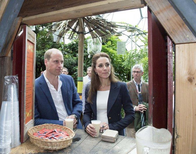 Kate de Cambridge en voyage le 2 septembre 2016 dans les Cornouailles