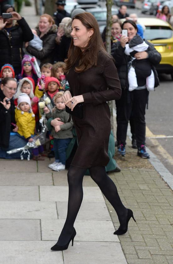 Kate Middleton à Londres le 16 janvier 2015