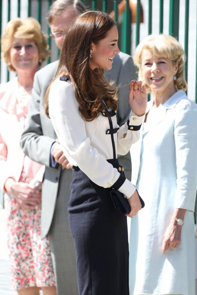 Kate Middleton : radieuse et sur les traces de son aïeule à Bletchley Park, en Angleterre !