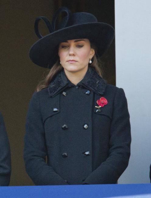 Kate Middleton, Londres, 11 novembre 2012.