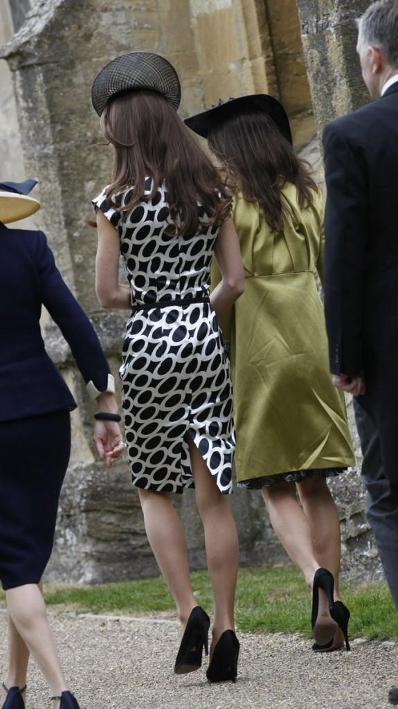 Côté verso, Kate dévoile sa maigreur