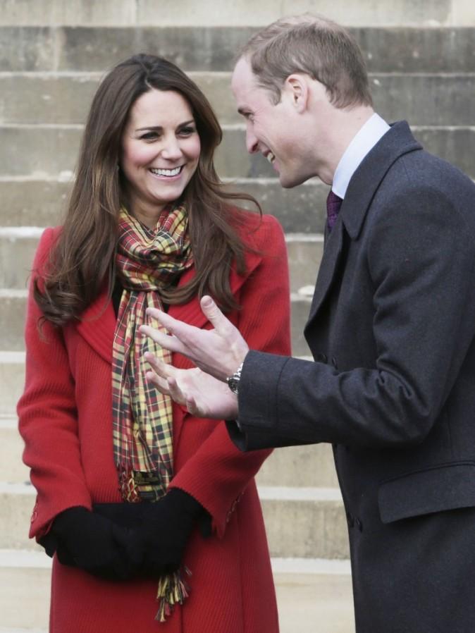 Kate Middleton : une future maman sublime qui met l'Ecosse à ses pieds !