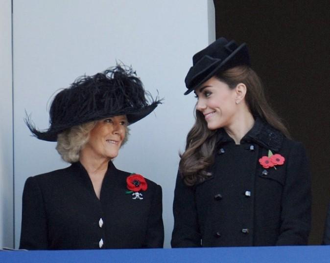 Complice avec sa belle-mère, Camilla