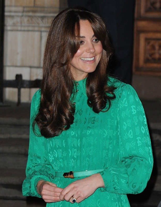 Kate Middleton le 27 novembre 2012 à Londres