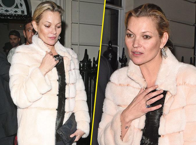 Photos : Kate Moss : alcoolisée après une soirée chez Madonna