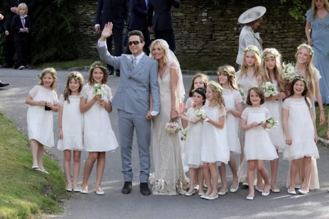 Franchement auriez-vous cru qu'un jour Kate Moss épouserait son Jamie Hince ?
