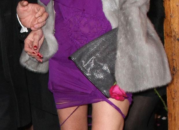 Oups sa robe déchirée !