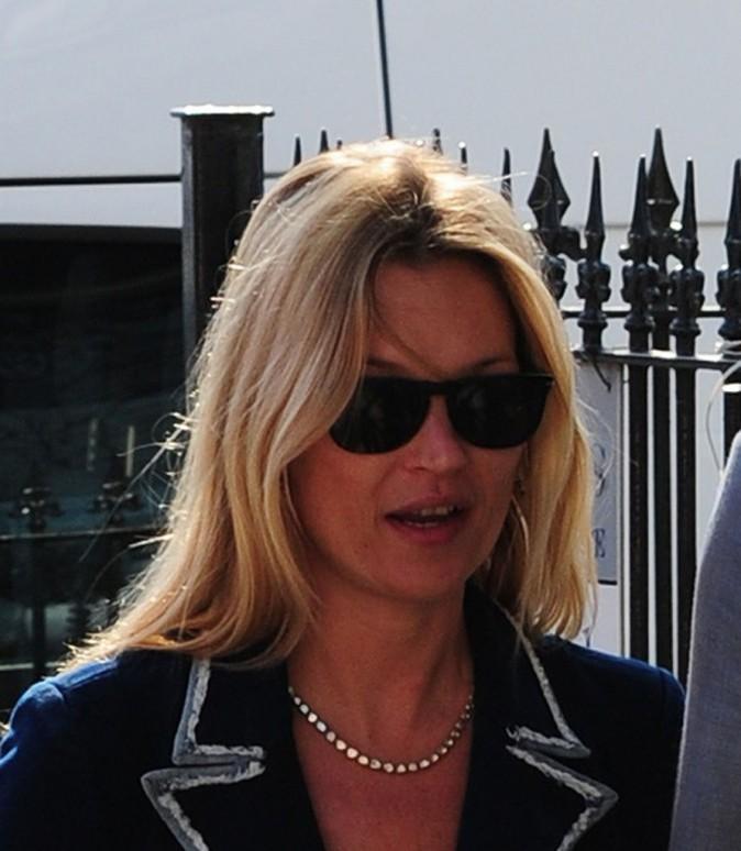 Kate Moss à Londres, le 27 mars 2012.