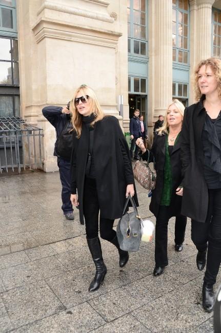Kate Moss à Paris, le 21 novembre 2012.