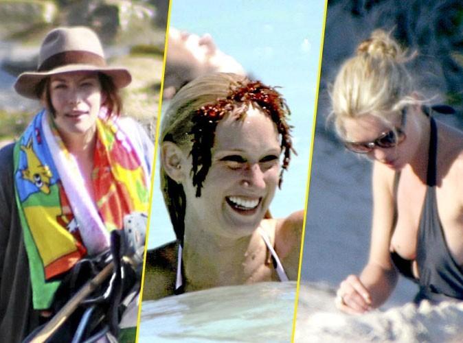 Photos : Kate Moss, Liv Tyler, Kimberly Stewart... comment assumer le ridicule à la plage en 6 leçons !