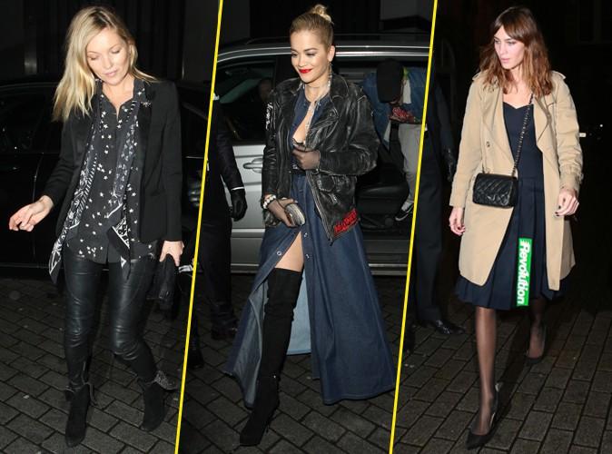 Kate Moss, Rita Ora, Alexa Chung… Quand l'élégance et le débraillé s'affrontent !