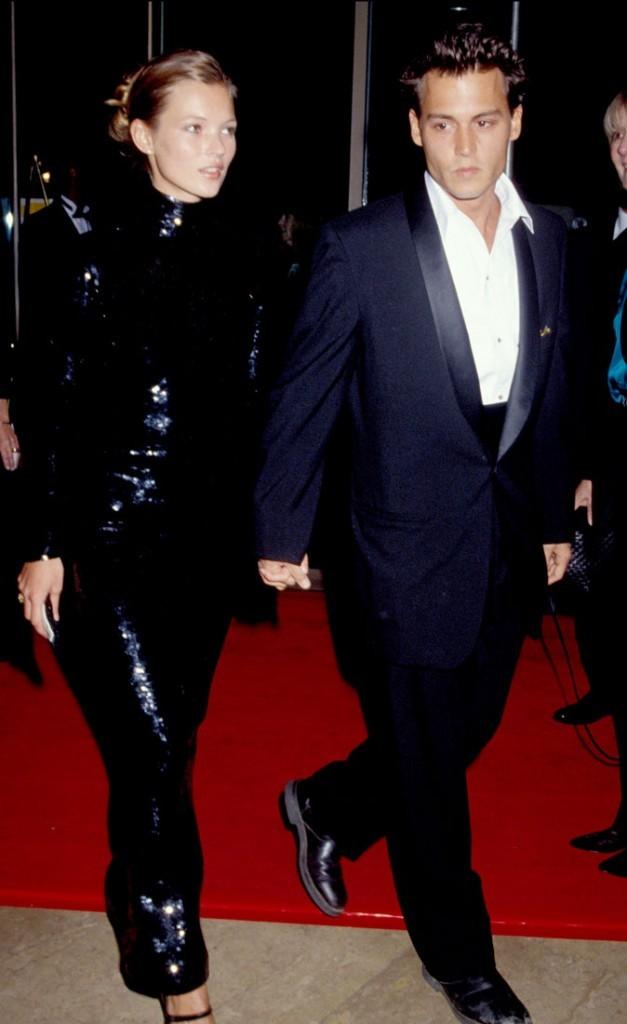 Photos : Kate Moss est sortie avec Johnny Depp de 1994 à 1997