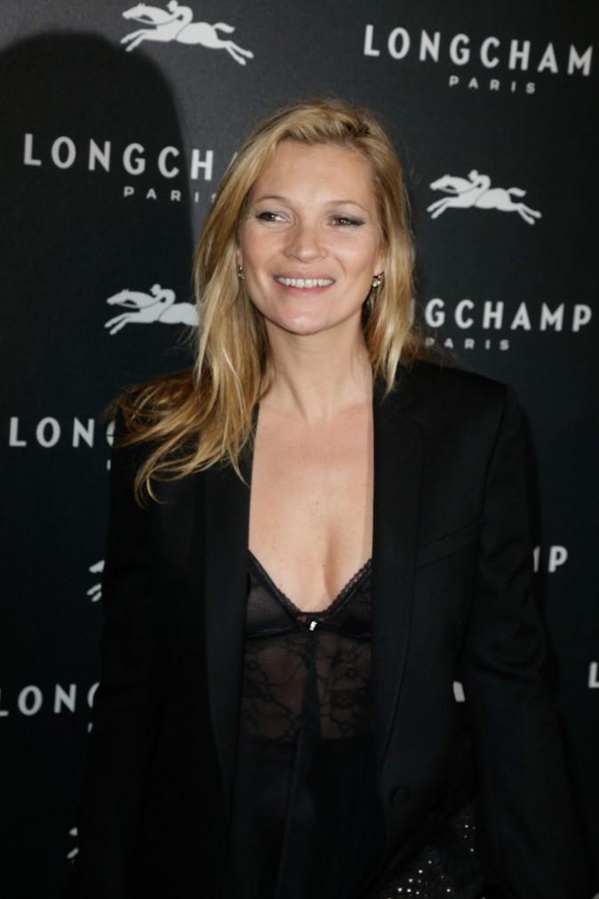 Kate Moss à Paris le 4 décembre 2014