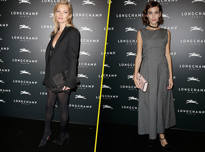Kate Moss et Alexa Chung à Paris le 4 décembre 2014